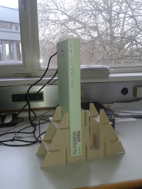one net6501 in its cardboard stand